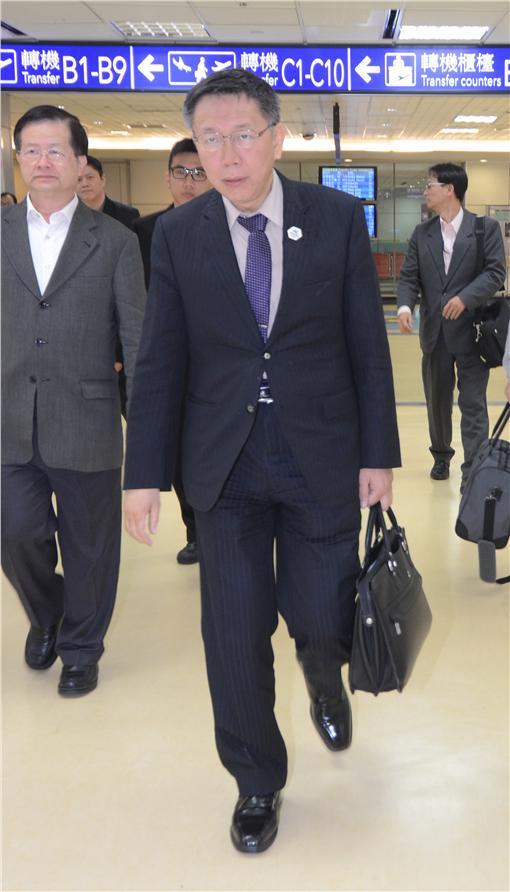 柯文哲/中央社