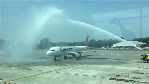 ▲LCC前進馬來西亞首部曲 台灣虎航今首航沙巴。(圖/台灣虎航)