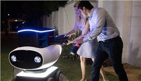 達美樂即將推出外送機器人 翻攝自達美樂澳洲官網 https://www.dominos.com.au/inside-dominos/technology/dru