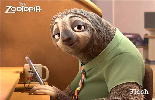 樹懶,動物方程市劇照
