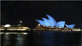 圖/美聯社/達志影像 雪梨歌劇院