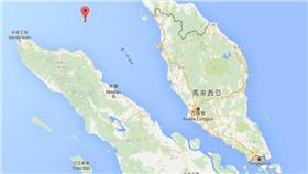 新加坡,印尼,海域(GoogleMap)