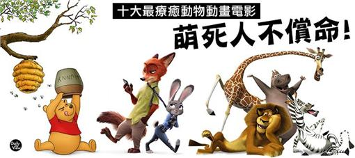 萌死人不償命!十大最療癒動物動畫電影(網路溫度計)http://dailyview.tw/Daily/2016/03/20