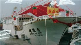 漁會,,巡邏,開槍,聖德財號,連億興116號,漁船,攻擊 ▲圖/琉球區漁會提供