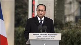 法國總統歐蘭德(François Hollande)美聯社/達志影像
