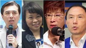 合成圖/翻攝自陳學聖、黃敏惠、洪秀柱、李新(由左至右)臉書