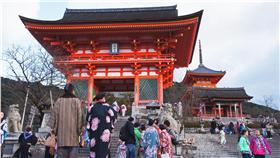 京都清水寺仁王門。(圖/記者黃裕晴攝影)