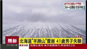 羊蹄山,雪崩,北海道,搜救,失聯,下落不明,滑雪客