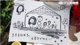 小燈泡 女童 西湖國小 記者李鴻典攝