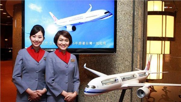 ▲空中五感新體驗 華航A350全面直飛歐洲。(圖/華航)