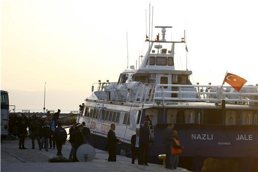 土耳其,難民,遣返,希臘,歐盟 圖/路透社/達志影像