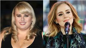 胖艾美,瑞貝爾威爾森,愛黛兒,Adele/臉書、美聯社