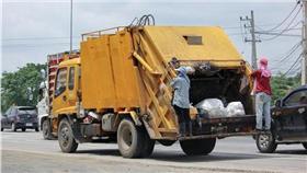 垃圾車,回收,處理(圖/達志影像)
