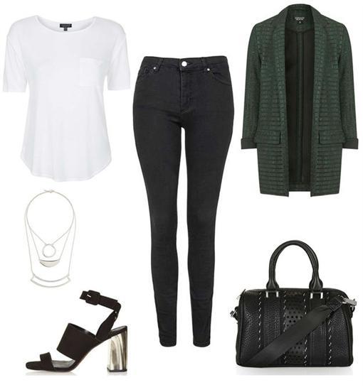 牛仔褲搭配法5招翻攝自BuzzFeedhttp://www.buzzfeed.com/sallykaplan/unexpected-ways-to-style-jeans-and-a-t-shirt#.sf9k7eM2w