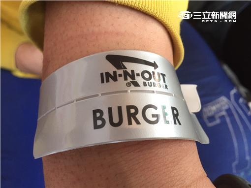 IN-N-OUT Burger,漢堡,東區,快閃,牛肉堡,手環,美食