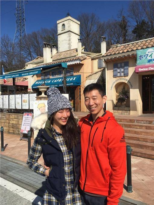 隋棠和老公Tony/翻攝臉書