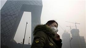 PM2.5,空污 (圖/美聯社/達志影像)