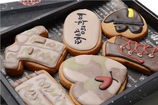 太陽的後裔手工餅乾/후추통