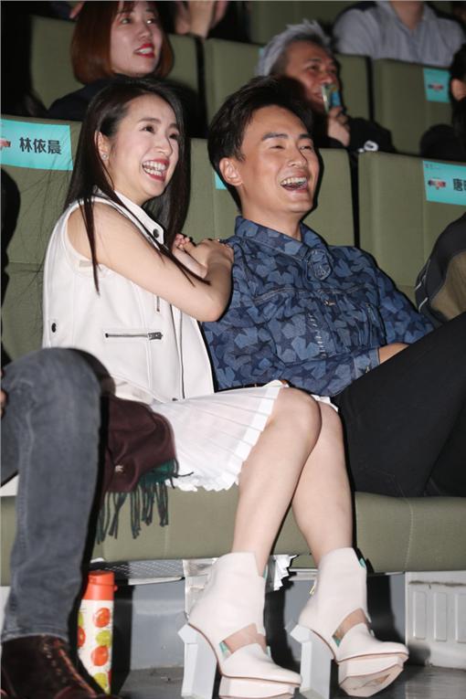 林依晨,鄭元暢 圖/達志影像
