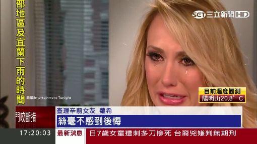 """美國男星""""查理辛"""" 驚爆買兇謀殺前未婚妻"""