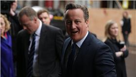英國首相卡麥隆/達志影像