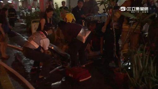14層高大樓暗夜火警 15住戶幸運獲救