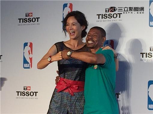 NBA,Janet,謝怡芬,黃子佼,Muggsy Bogues 圖/攝影鍾孟潔