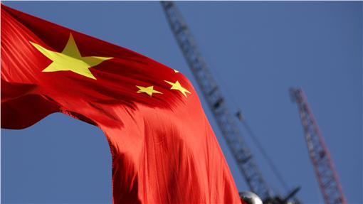 中國大陸、國旗、五星旗(圖/路透社/達志影像)
