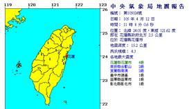 地震 中央氣象局