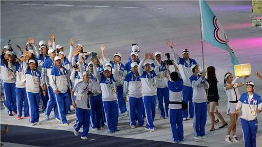2015光州世大運閉幕(圖/台北市政府提供)