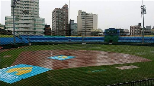 新竹棒球場延賽(資料照/中職提供)