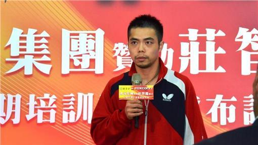 ▲莊智淵(圖/取自中華民國桌球協會)