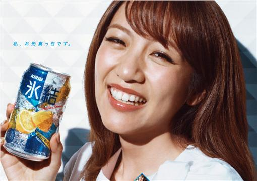 AKB48,高橋南,總監督,畢業,廣告代言,KIRIN冰結,水果調酒