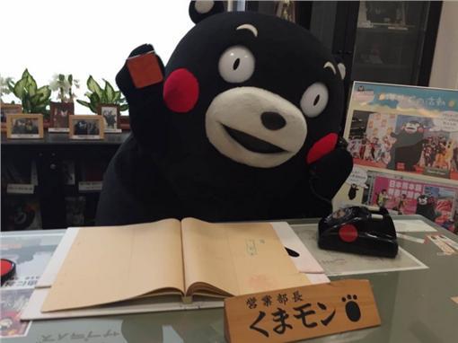 熊本熊(圖/取自熊本熊推特)