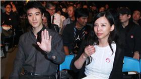 音樂人劉天健音樂追思會,王力宏與老婆一起出席。(圖/攝影邱榮吉)(首圖)