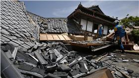 熊本強震,大地震,熊本城▲圖/美聯社/達志影像