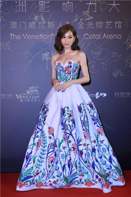 王心凌-第二十屆全球華語榜中榜暨亞洲影響力大典/環球提供