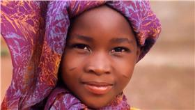 非洲少女(圖/pixabay授權提供)