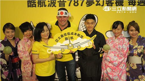 酷航將在10月開航台北—札幌。(圖/記者簡佑庭攝影)