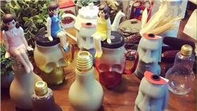 奶茶,造型,燈泡,骷髏頭(圖/翻攝自Edison's tea shop臉書) https://www.facebook.com/901724859946070/photos/pb.901724859946070.-2207520000.1461057712./954794787972410/?type=3&theater