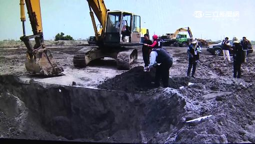 農地遭埋不明廢棄物!重金屬超標 2人聲押