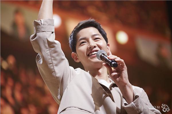 宋仲基,李光洙,朴寶劍,見面會-翻攝自Blossom Entertainment