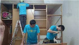 志工,高雄,小港,修復,家園,受災-翻攝自衡山行善團總部