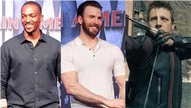 (組圖)美國隊長、漫威、獵鷹、鷹眼/翻攝自Marvel、Avengers臉書