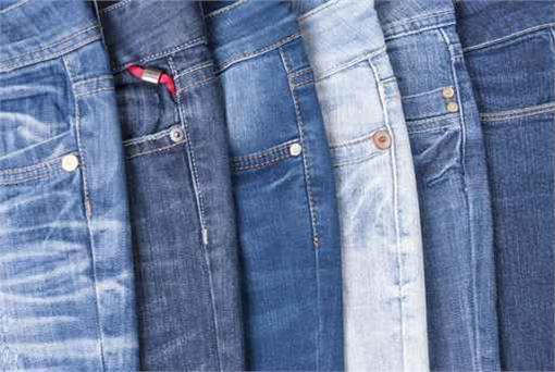牛仔褲、、鉚釘/達志影像/美聯社
