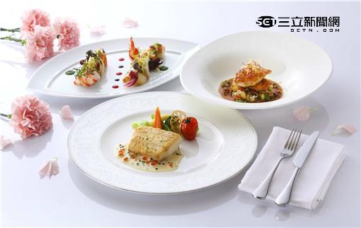 台北喜來登母親節安東廳菜色。(圖/台北喜來登提供)