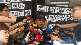 八仙塵爆受害者保護協會理事長吳聲彣/記者楊忠翰攝