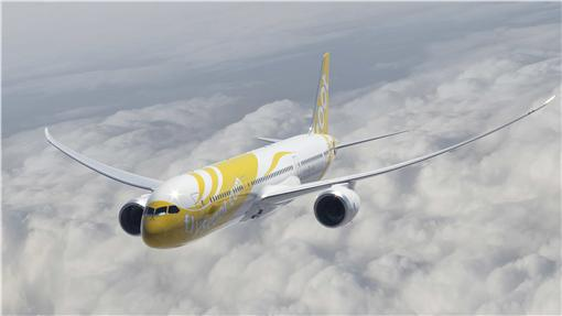 酷航787夢幻客機。(圖/酷航提供)