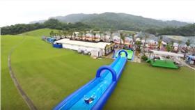 基隆擁恆文創新花樣半山腰120公尺滑水道 YouTube