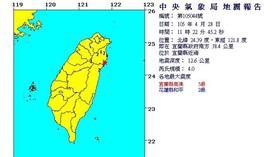 0428地震/中央氣象局